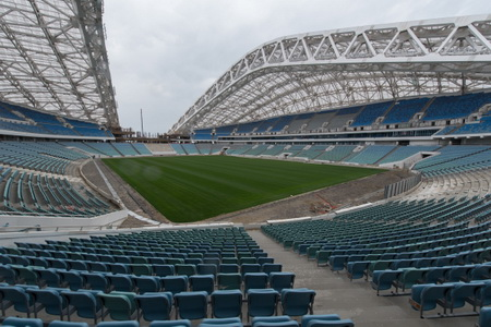 «Фишт» вполне может стать запасным стадионом «Локомотива» наследующий сезон