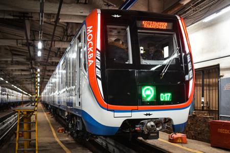поезда метро москвы фото