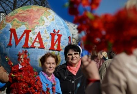 Из-за демонстрации 1мая вцентральной части Москвы ограничат движение