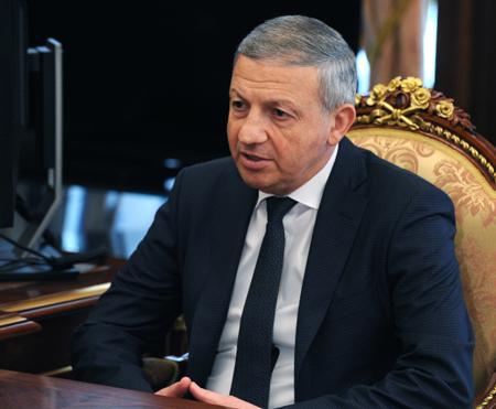 ПрезидентРФ встретился сглавой Северной Осетии