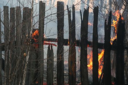 Пучков обещал погорельцам изБубновки отстроить дома до30сентября