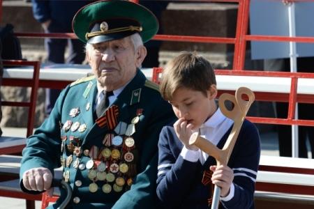Граждане Дальнего Востока первыми отметили День Победы