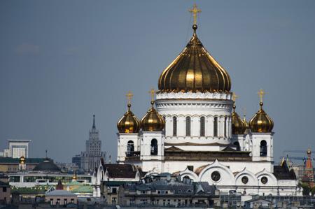 В столицеРФ врайоне храма Христа Спасителя 21мая будет ограничено движение
