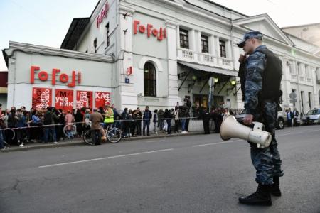 Чулпан Хаматова иЕвгений Миронов выступили сзаявлением у«Гоголь-центра»