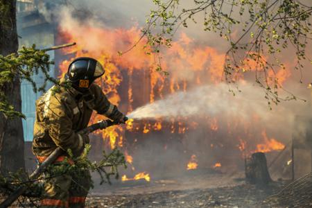 Навыходных повсей Сибири предполагается высокая ичрезвычайная пожарная опасность