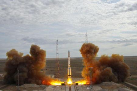 Ракета-носитель «Протон-М» запущена скосмодрома «Байконур»