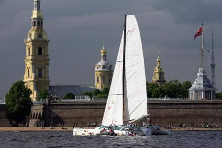 «Балтийская яхтенная неделя» стартует вПетербурге