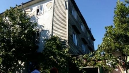 ВСочи обрушилась часть жилой здания