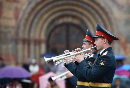 Впарках инавокзалах столицы выступят военные оркестры различных стран
