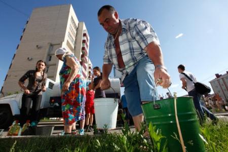 ВТульской области без воды оказались неменее 15 тыс. человек