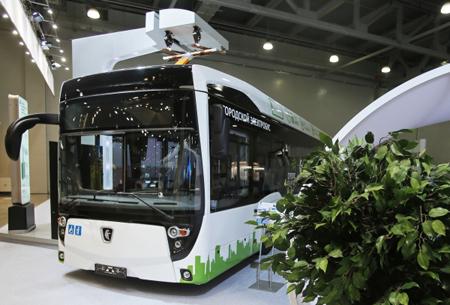 Когда игде в столице России выходит намаршрут самый новый электробус КамАЗ