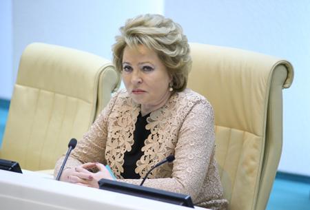 Валентина Матвиенко прибыла вКабардино-Балкарию