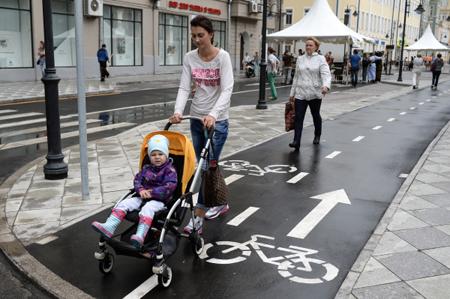 Москва самый неопасный город для пешеходов— ГИБДД