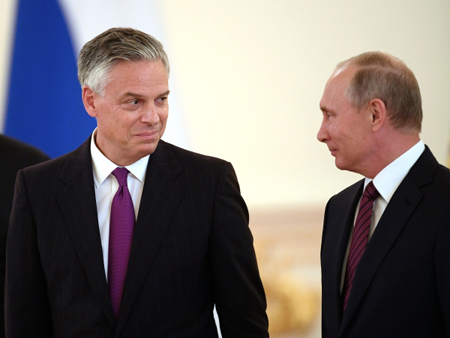 Российская Федерация стремится кпредсказуемому сотрудничеству сСША наравных— Путин