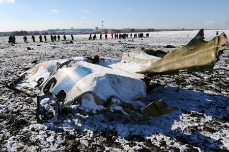 Родственники погибших при крушении Boeing вРостове-на-Дону потребовали $10 млн сFlyDubai