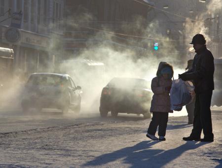 МЧС предупреждает обаномальных морозах впервую неделю декабря вХабаровском крае