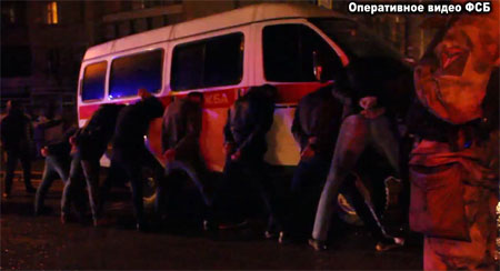 ВСимферополе запохищение предпринимателя задержали группу вымогателей