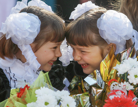 ВПетербурге началась запись впервые классы школ на 2018г