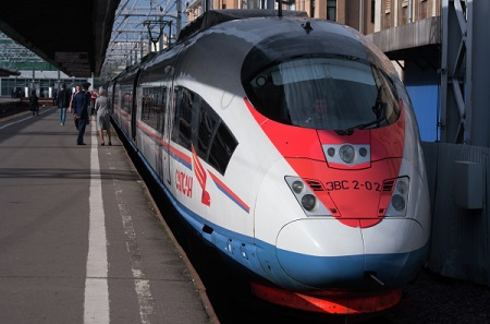 Транспортировки пассажиров поездами «Сапсан» увеличились неменее чем на6% в предыдущем году