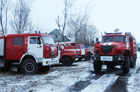 Двое детей погибли впожаре вБрянской области