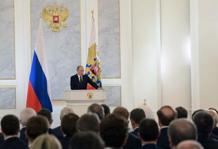 Владимир Путин проведет «прямую линию» после инаугурации