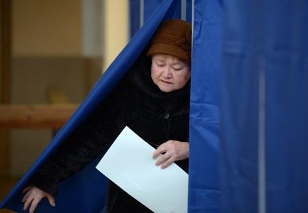 В20 областях Российской Федерации завершилось голосование навыборах президента