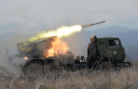 Учения русских военных начались наюгоосетинском полигоне «Дзарцеми»