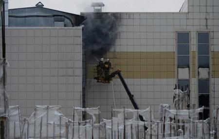Охранник ТРЦ вКемерово подозревается вотключении пожарной сигнализации