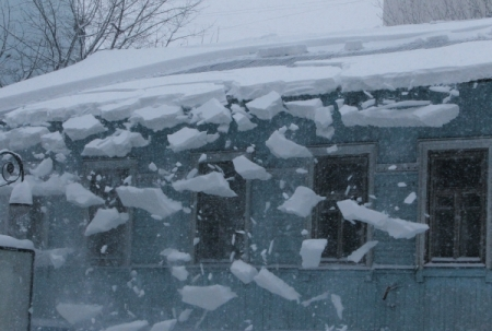 Очистка крыш от снега и наледи охрана труда