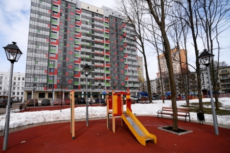 Затри месяца в российской столице построили 371 тыс. квметров жилья