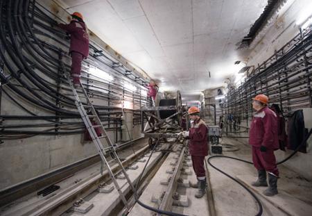 Сразу три участка огромного кольца в столице России откроют в 2020-ом году
