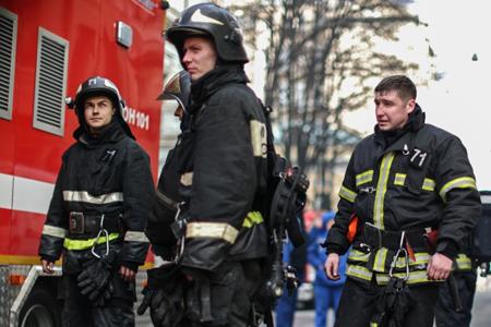 Пожар вудмуртском Пугачево перерос в«чрезвычайную ситуацию»