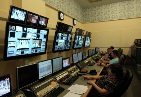 В столицеРФ открылся Международный вещательный центрЧМ