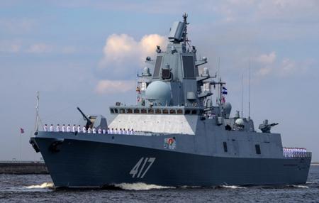 Фрегат «Адмирал Горшков» будет передан российскому флоту втретьем квартале 2018 года