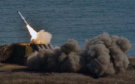 Береговой ракетный комплекс «Бастион» развертывается на о.Котельный вАрктике