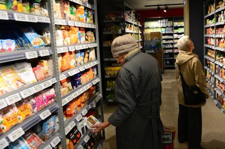 Продукты в России в январе-ноябре дорожали в 3,3 раза быстрее, чем в ЕС