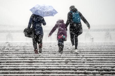 Вот это лето! Снег выпал в Магаданской области