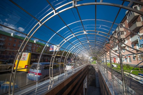 Реконструированные подземные переходы
