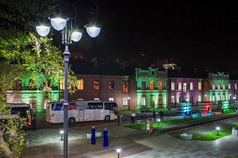 Набережная Цесаревича, открытая осенью 2012 года