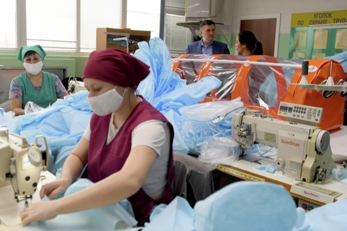 Производство медсредств индивидуальной защиты и тестов наладят в ЕАО
