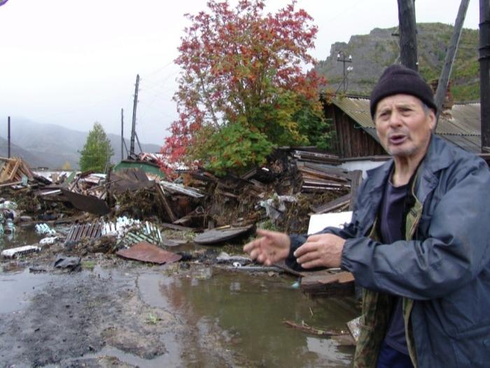 Прорыв дамбы произошел в селе Ленинское Еврейской АО