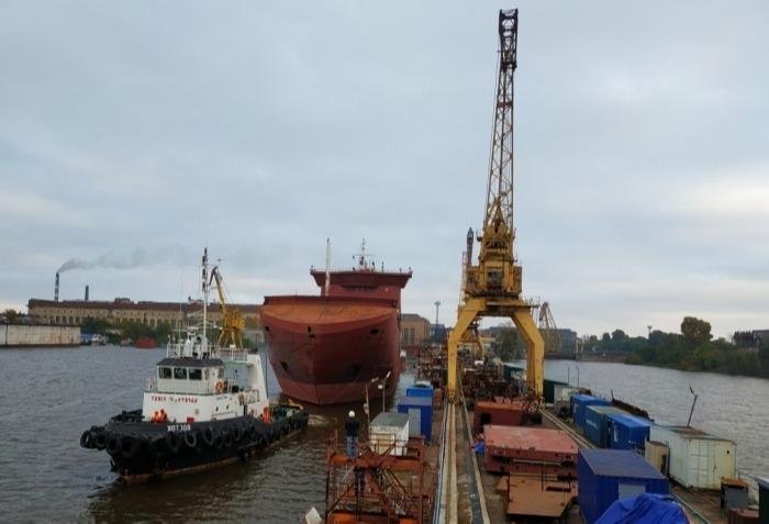 Амурский судозавод отправил первый паром для линии Ванино-Холмск на сдаточную базу