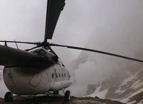 На Камчатке разыскивают вертолет, нелегально севший в кратер заповедного вулкана