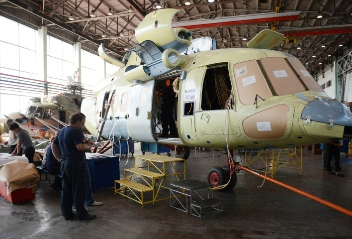 Улан-Удэнский авиазавод в 2020г выпустит порядка 70 вертолетов, 50% из них гражданские