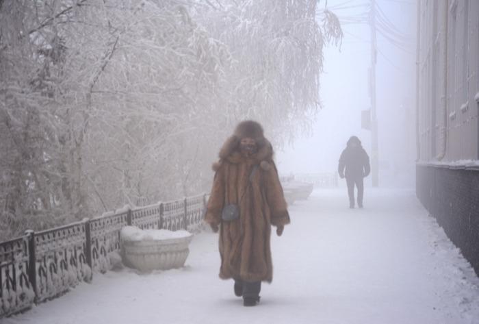 Самая низкая температура в Якутии зафиксирована на отметке минус 58 градусов